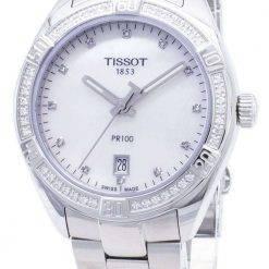 Tissot T-Classic PR 100 Lady Sport T101.910.61.116.00 T1019106111600 Diamond Accents Quartz Women's Watch