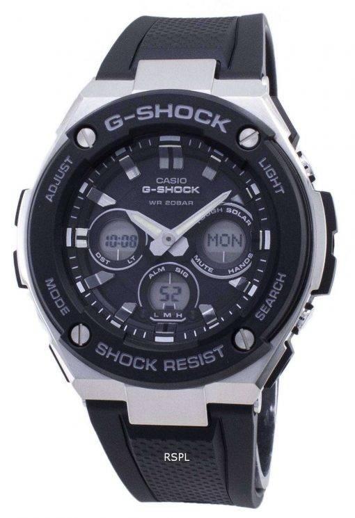 Casio G-Shock G-Steel GST-S300-1A GSTS300-1A Shock Resistant 200M Men's Watch