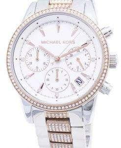Michael Kors Ritz MK6651 Chronograph Diamond Accents Women's Watch