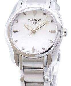Tissot T-Trend T-Wave T023.210.11.116.00 T0232101111600 Diamond Accents Quartz Women's Watch