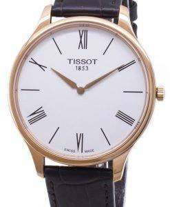 Tissot T-Classic Tradition 5.5 T063.409.36.018.00 T0634093601800 Quartz Analog Men's Watch
