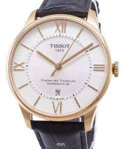 Tissot T-Classic Chemin Des Tourelles T099.407.36.038.00 T0994073603800 Powermatic 80 Men's Watch