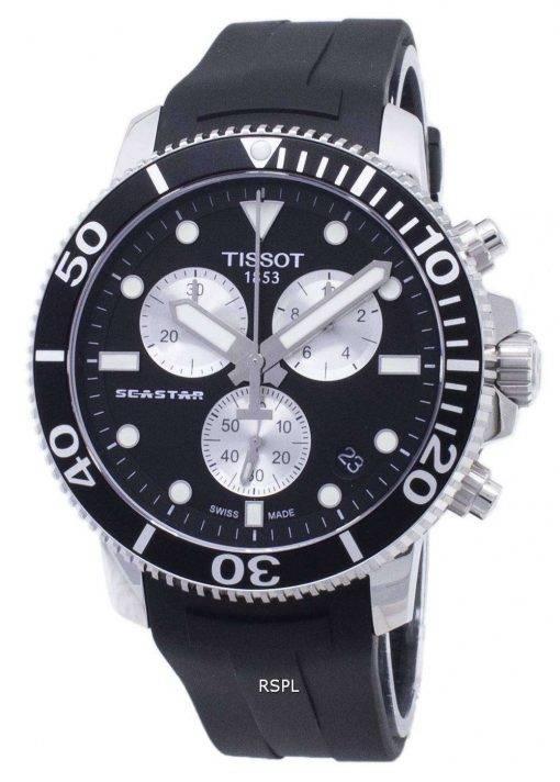 Tissot T-Sport Seastar T120.417.17.051.00 T1204171705100 Chronograph 300M Men's Watch