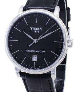 Tissot T-Classic Carson T122.407.16.051.00 T1224071605100 Powermatic 80 Men's Watch