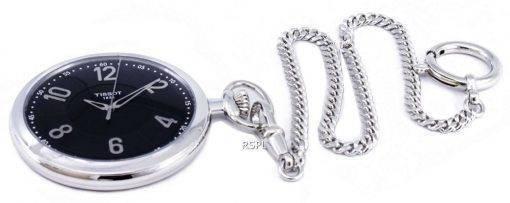 Tissot Lepine T82.6.550.52 T82655052 Quartz Analog Pocket Watch