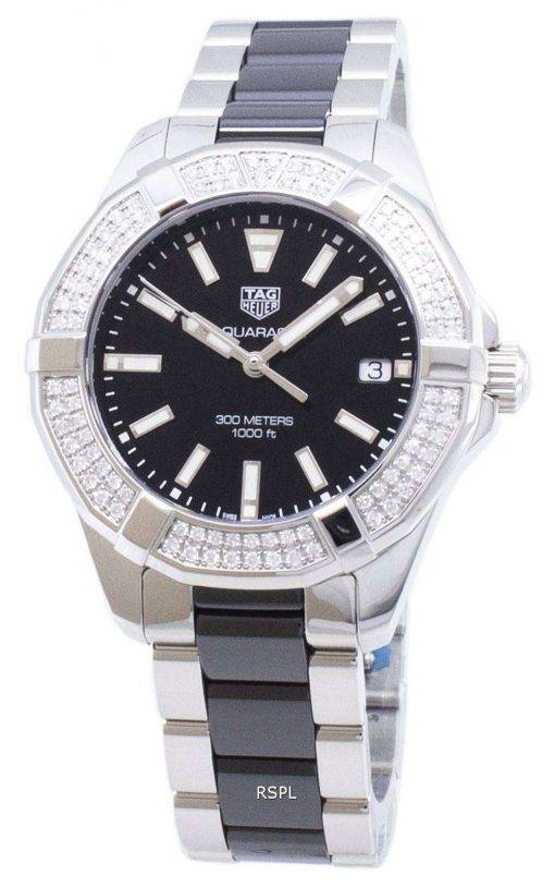 Tag Heuer Aquaracer WAY131E.BA0913 Diamond Accents Quartz 300M Women's Watch