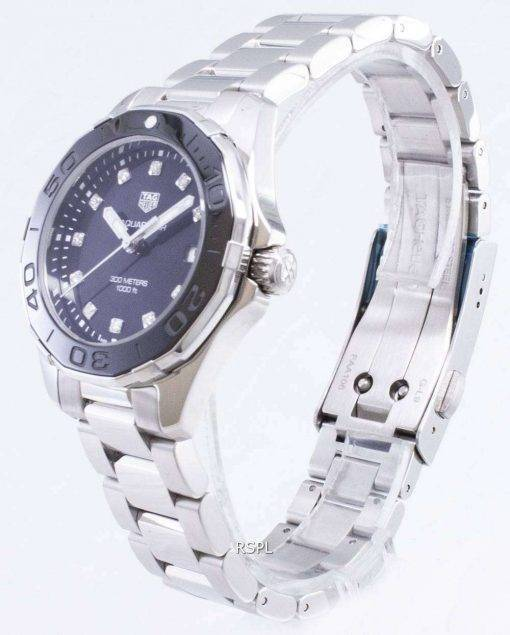 Tag Heuer Aquaracer WAY131M.BA0748 Diamond Accents Quartz 300M Women's Watch