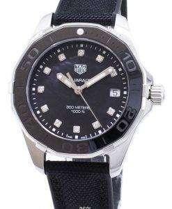 Tag Heuer Aquaracer WAY131M.FT6092 Diamond Accents Quartz 300M Women's Watch
