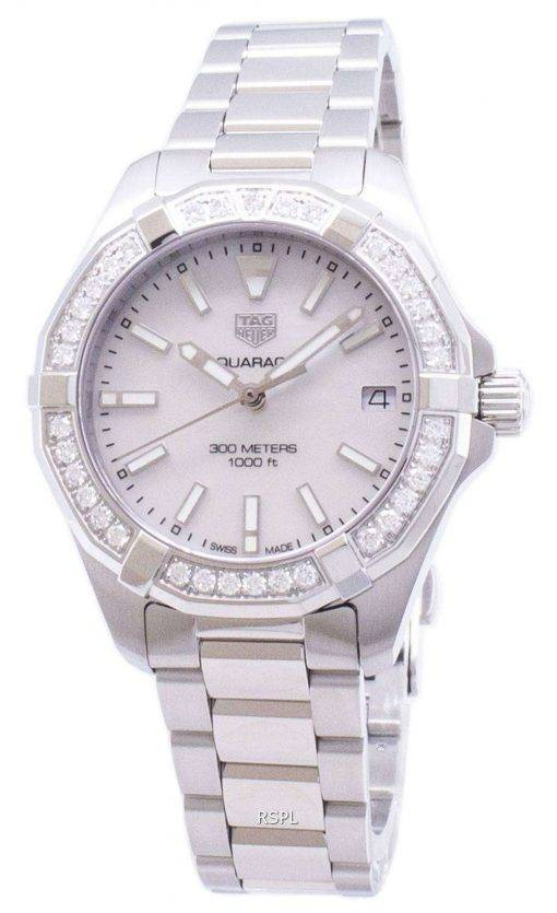 Tag Heuer Aquaracer WBD1313.BA0740 Diamond Accents Quartz 300M Women's Watch
