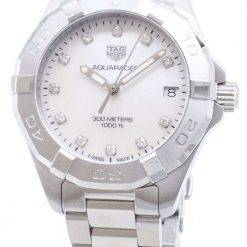 Tag Heuer Aquaracer WBD1314.BA0740 Diamond Accents Quartz 300M Women's Watch