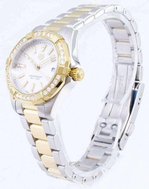 Tag Heuer Aquaracer WBD1421.BB0321 Diamond Accents Quartz 300M Women's Watch