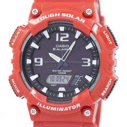 Casio Analog Digital Tough Solar AQ-S810WC-4AVDF AQ-S810WC-4AV Mens Watch