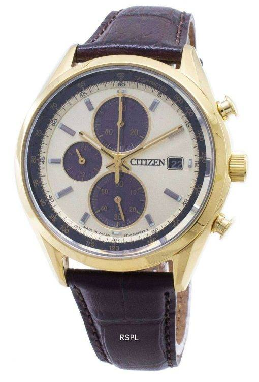 Citizen Eco-Drive CA0452-01P Chronograph Analog Men's Watch