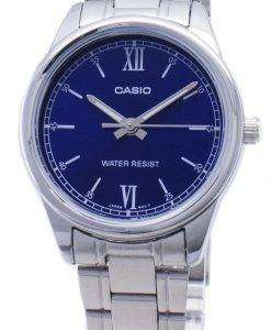 Casio Timepieces LTP-V005D-2B2 LTPV005D-2B2 Quartz Analog Women's Watch