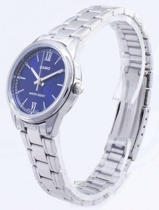 Casio Timepieces LTP-V005D-2B2 LTPV005D-2B2 Quartz Analog Women's Watch