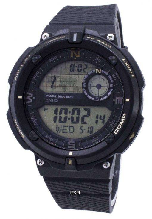 Casio Outdoor SGW-600H-9A SGW600H-9A Twin Sensor Quartz Digital Men's Watch