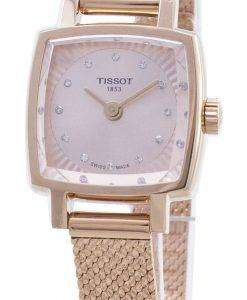 Tissot T-Lady Lovely Square T058.109.33.456.00 T0581093345600 Diamond Accents Women's Watch
