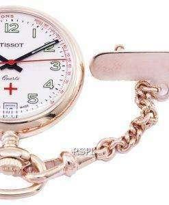 Tissot T-Pocket Pendants Petite Infirmiere T81.7.223.92 T81722392 Quartz Pocket Watch