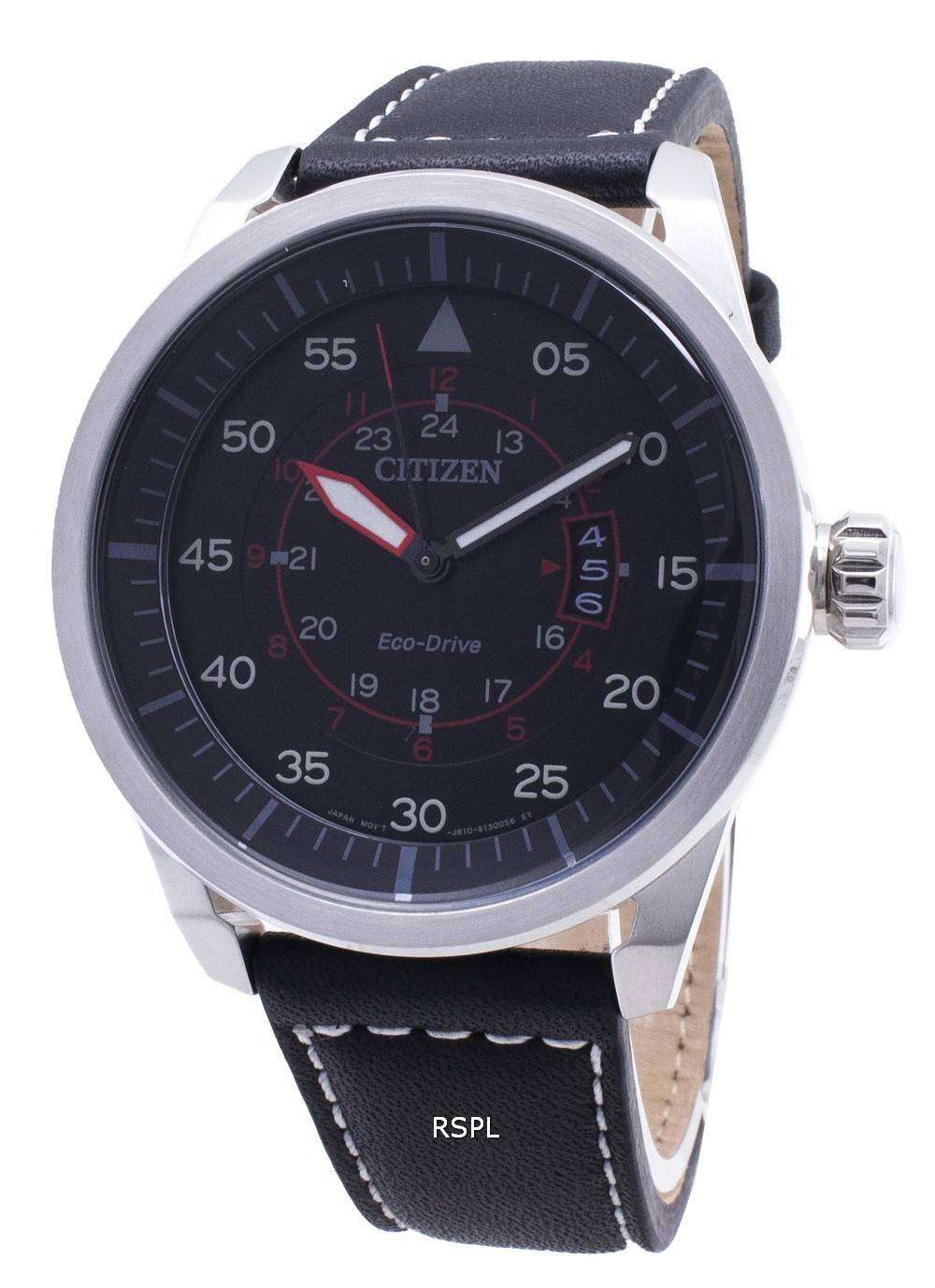 info for 0a9f6 1b001 Citizen Eco-Drive Aviator Power Reserve AW1360-04E Mens Watch