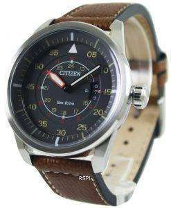 Citizen Eco-Drive Aviator Power Reserve AW1360-12H Men's Watch