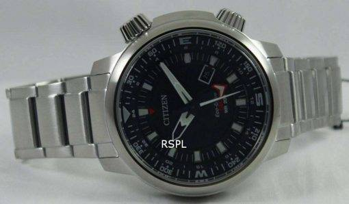 Citizen Promaster Eco-Drive GMT 200M BJ7080-53E Mens Watch