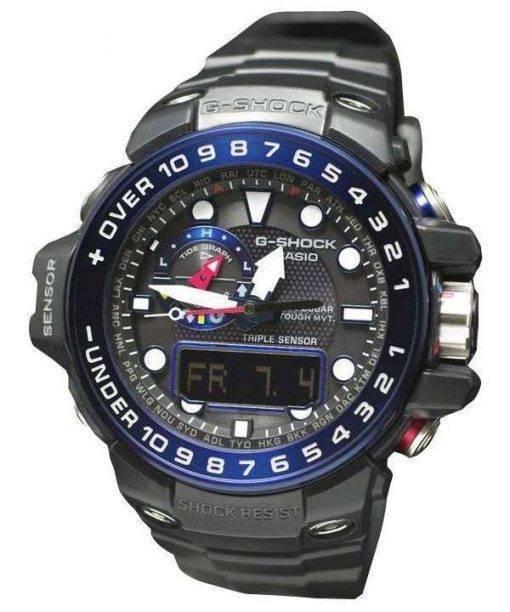 Casio GULFMASTER G-Shock Atomic Analog-Digital 200M GWN-1000B-1B Mens Watch