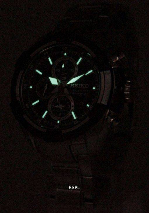Seiko Velatura Alarm Chronograph SNAF39P1 SNAF39P Mens Watch