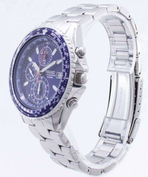 Seiko Sliding Rule chronograph Pilots SND255P1 Watch