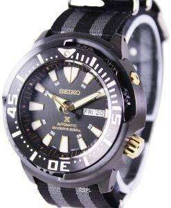 "Seiko Prospex ""Baby Tuna"" Automatic Diver's 200M SRP641K1-NATO1 Men's Watch"
