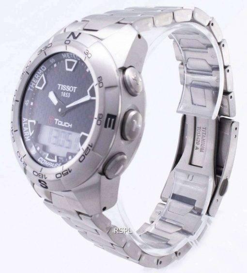 Tissot T-Touch Titanium T013.420.44.201.00 Compass Watch