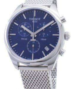 Tissot T-Classic PR 100 T101.417.11.041.00 T1014171104100 Chronograph Men's Watch