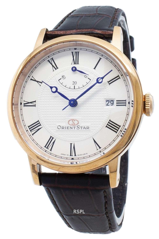 Refurbished Orient Star SEL09001W EL09001W Elegant Classic Automatic Men's Watch