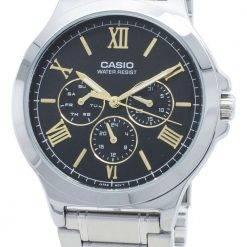 Casio Enticer MTP-V300D-1A2  MTPV300D-1A2 Chronograph Quartz Men's Watch